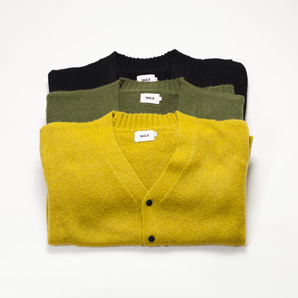 [THE HARD MAN] Wool mix cardigan