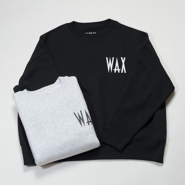 [THE HARD MAN] WAX wide body crew sweat