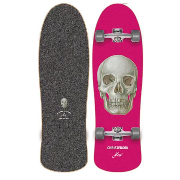 [CHRISTENSON SURFBOARDS] YOW SURFSKATE x Christenson Skalle 34″