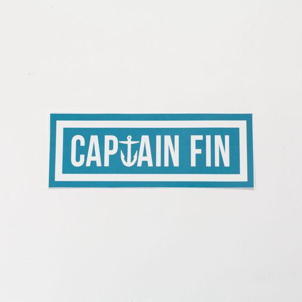 [CAPTAIN FIN Co.] NAVAL CAPTAIN BUMPER STICKER