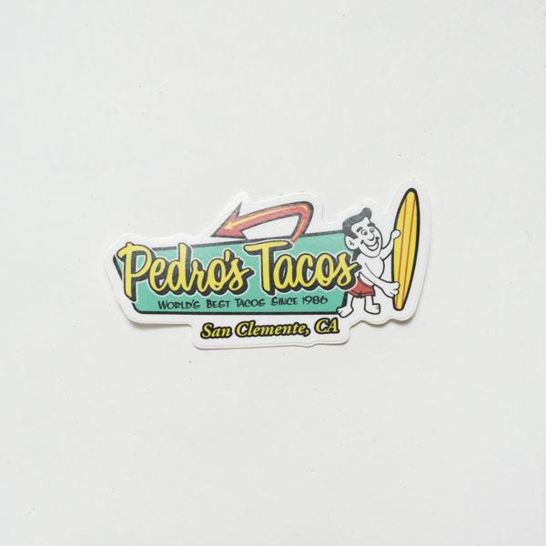 [ Pedros Tacos ] STICKER