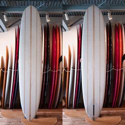 "[CHRISTENSON SURFBOARDS] CALIFORNIA PIN 9'2"""