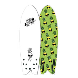 "[WAVE BANDIT] Ben Gravy Retro Fish 5'8""Quad"