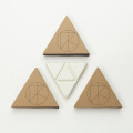 "[KASSIA SURF]  PALO SANTO WAX ""TRIANGLE STACK"""