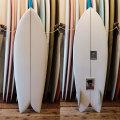 [CHRISTENSON SURFBOARDS] TWIN FISH  5'2