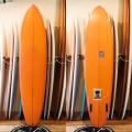 [CHRISTENSON SURFBOARDS] TWIN TRACKER 7'6