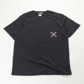 [AIDENTIFY] CRACK TEE BLACK