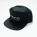 "[AIDENTIFY] Embroidery Cap ""SCRIPT"" BLACK"