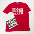 [BEACH ASS PUNK] BEACH TEE