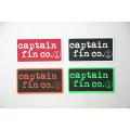 [CAPTAIN FIN Co.]  4 STICKER PACK