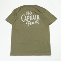 [CAPTAIN FIN Co.] OLDSTYLE SS TEE
