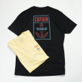 [CAPTAIN FIN Co.] BOXED HOOK SS TEE