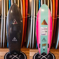 "[CATCH SURF] Heritage series Retro Fish 5'6"" Turqoise"
