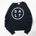 [salt surf]  RAGLAN SWEAT SOLT LOGO