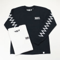 [THE HARD MAN] ZIGZAG L/S TEE