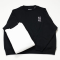 [THE HARD MAN] WAX WIDE CREW SWEAT