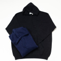 [THE HARD MAN] Knit pullover hoodie