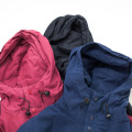 [THE HARD MAN] Bi-Color Mountain Parka