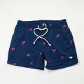 [THM] Palm Tree Shirring Shorts