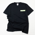 [THE HARD MAN] Neon Print Pocket Tee