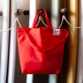 [WOW-OH] TOTE BAG RED S