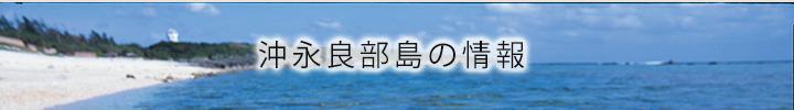 沖永良部島の情報