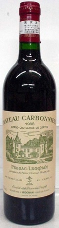 【1986】Ch.Carbonnieux Rouge/シャトー・カルボニュー・ルージュ 750ml