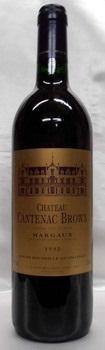 【2001】Ch. Cantenac Brown/シャトー・カントナック・ブラウン 750ml