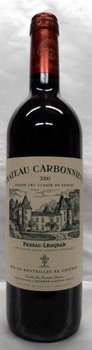 【2002】Ch.Carbonnieux Rouge/シャトー・カルボニュー・ルージュ 750ml