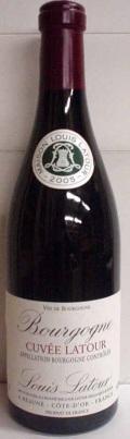 【2012】Bourgogne Rouge Cuvee Latour/ブルゴーニュ・ルージュ・キュヴェ・ラトゥール(Louis Latour/ルイ・ラトゥール)750ml