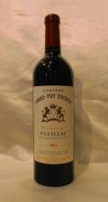 【2001】Ch.Grand Puy Ducasse/シャトー・グラン・ピュイ・デュカス 750ml
