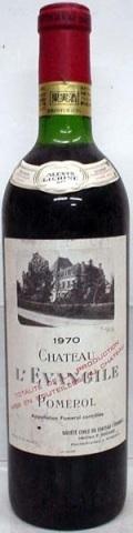 [1970] Ch. L'Evangileシャトー・レヴァンジル 750ml