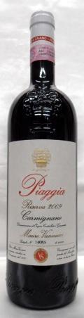 【2009】Carmignano Riserva/カルミニャーノ・リゼルヴァ( Piaggia /ピアッジャ)750ml