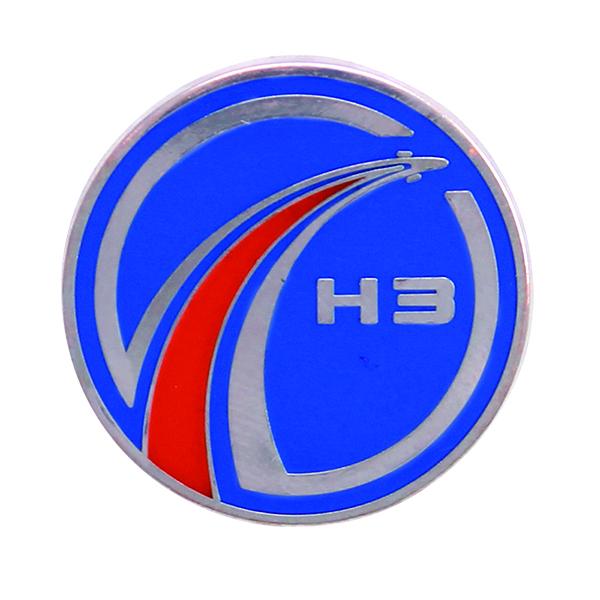 H3ロケット開発ロゴマーク ピンバッヂ
