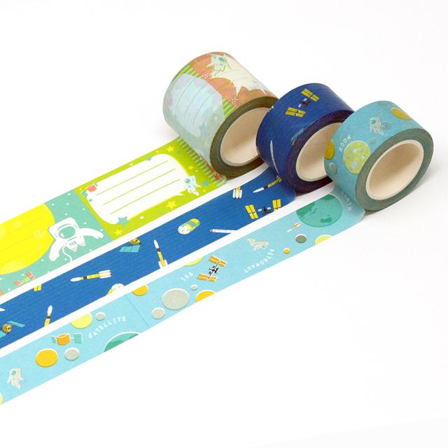 日本の宇宙開発マスキングテープ メイン