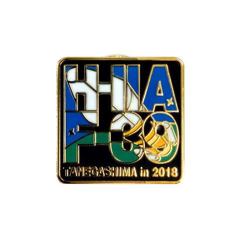 H-IIA 39号機 打上げ記念 ピンバッヂ メイン