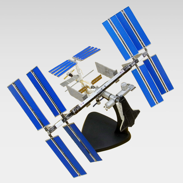 4Dパズル ISS メイン