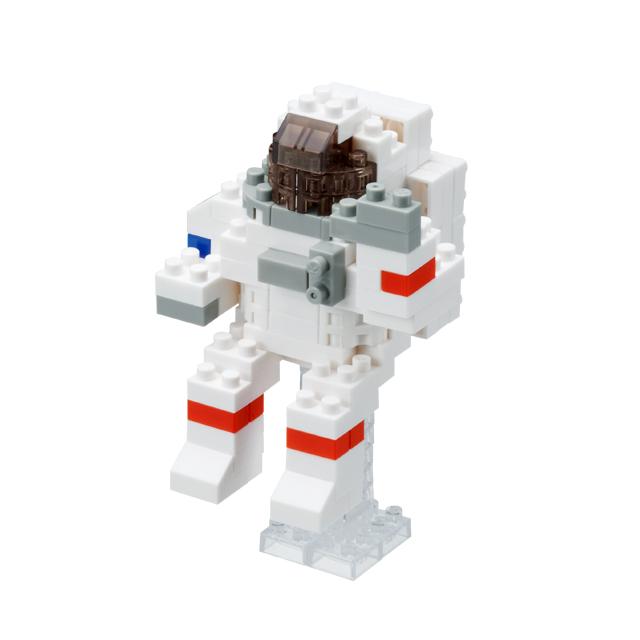 ナノブロック 宇宙飛行士