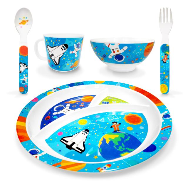 宇宙のジュニア食器シリーズ メイン