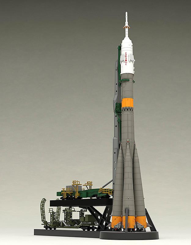 ソユーズロケット プラスチックモデル 射点