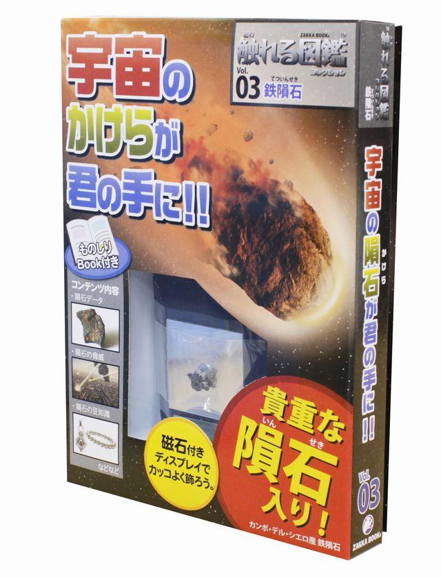 【製作実験グッズ】触れる図鑑(鉄隕石)