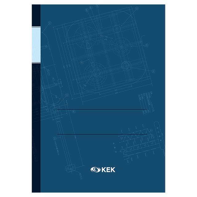 コッククロフト・ウォルトン型加速器 実験ノート ブルー 表紙