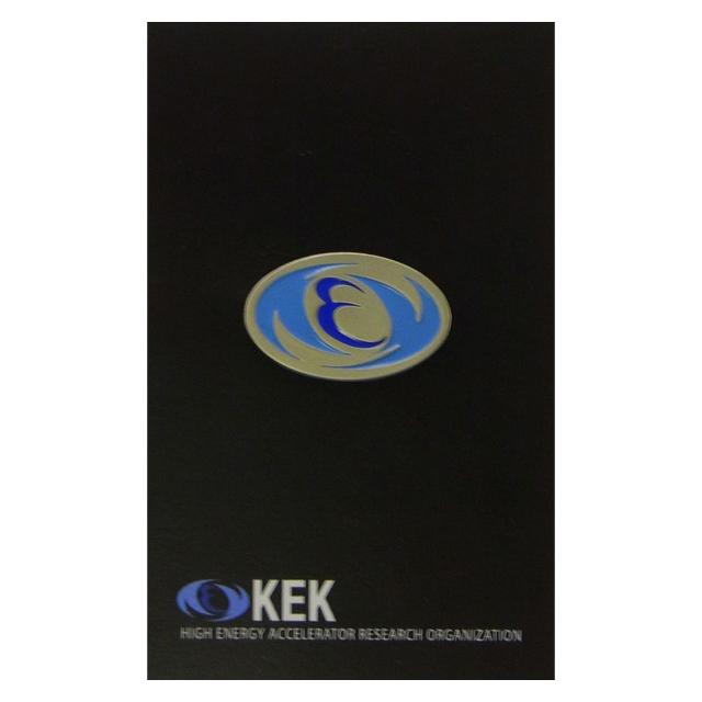 【KEKオフィシャルグッズ】KEKピンバッチ(KEKロゴ)