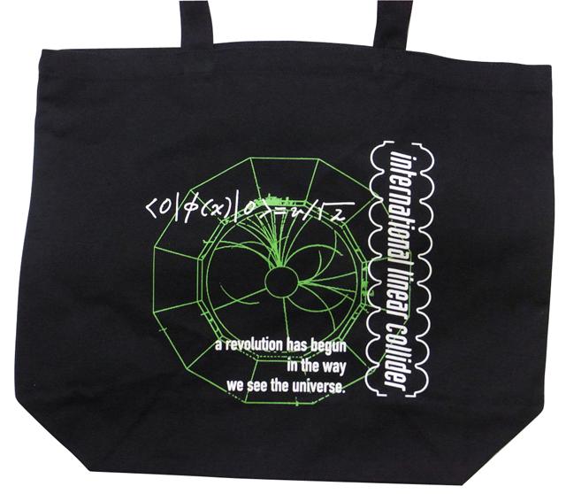 【素粒子物理学グッズ】ILC国際リニアコライダートートバック
