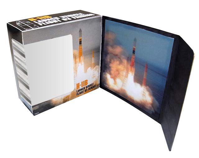 【JAXAオフィシャルグッズ】H-IIB3号機フェアリングセット(紙箱タイプ)