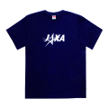 JAXAロゴグッズ Tシャツ ネイビー