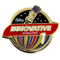 革新的衛星技術実証1号機 打上げ記念 ピンバッヂ