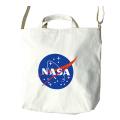 【NASAグッズ】ショルダートート ミートボールロゴ
