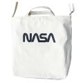 【NASAグッズ】ショルダートート ワームロゴ