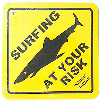 ハワイアン看板/Shark